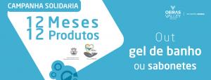 Campanha Solidária 12 meses 12 produtos lançada pelo programa Oeiras Solidária
