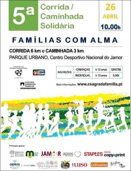 5ª Corrida/Caminhada Solidária Famílias com Alma